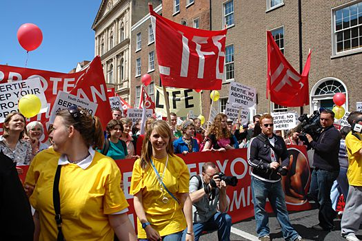 rally for life dublin 2007