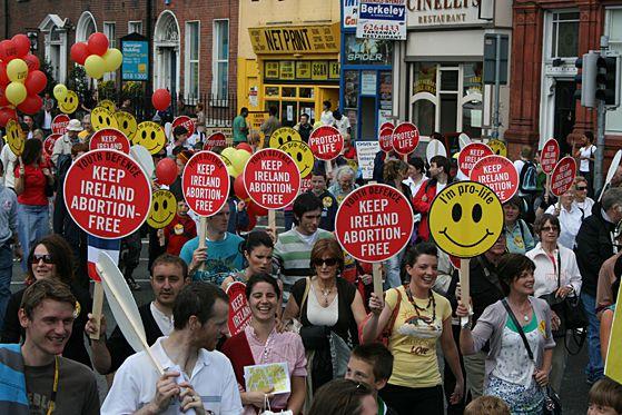 rally for life dublin 2009