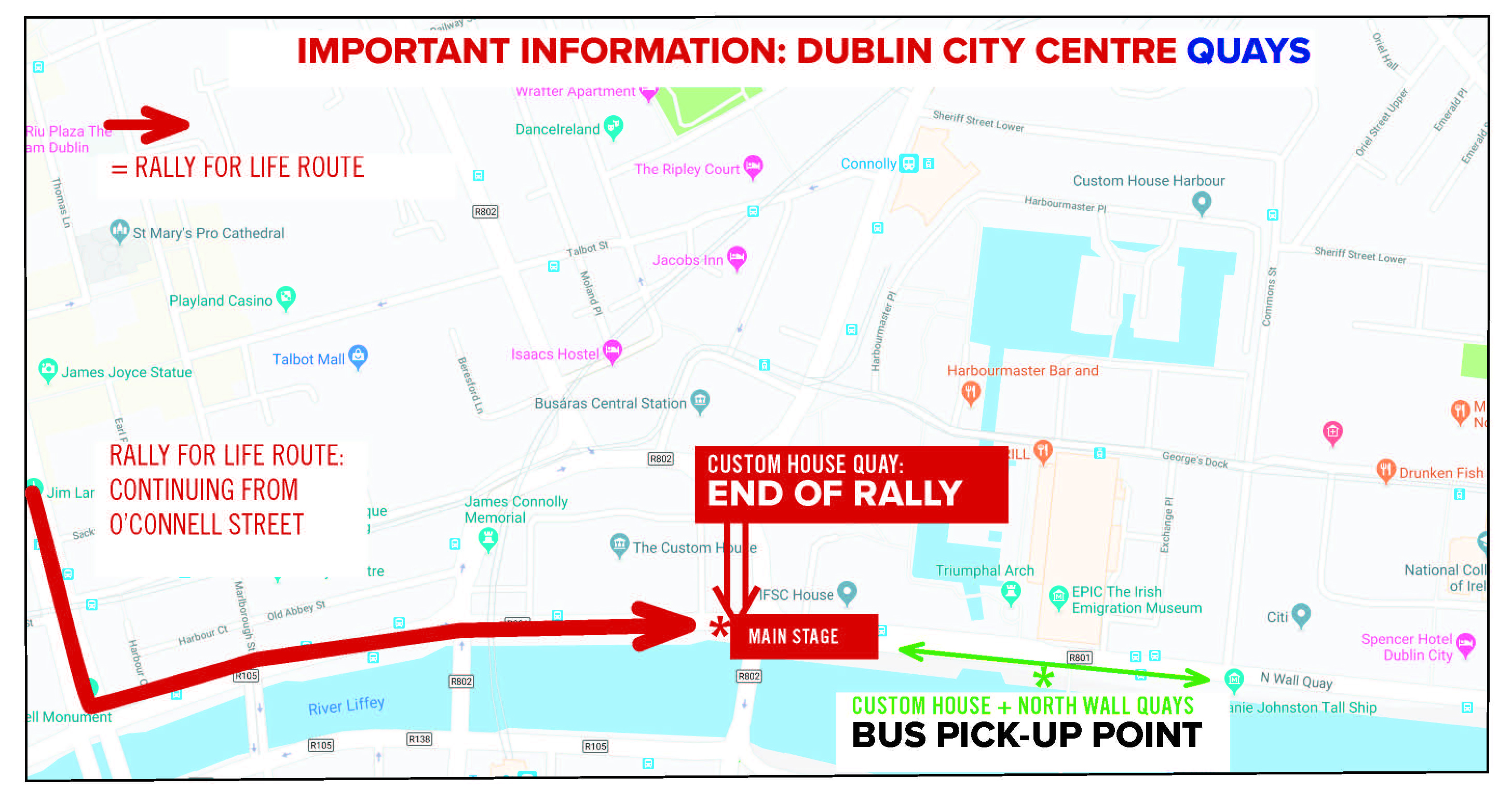 Dublin 2020 - Rally for life
